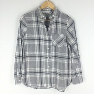 Old Navy Size XS Plaid the Classic Shirt
